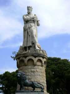 Памятник Альфонсо I в Сарагосе
