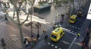 В Барселоне совершен теракт с помощью автомобиля