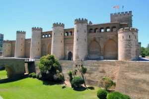 Замок Альхаферии в Сарагосе