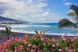 Пляж Playa Jardin на Тенерифе