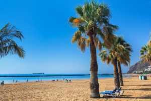 Пляж Тереситас на Тенерифе
