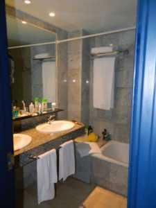 Ванная в отеле Cleopatra