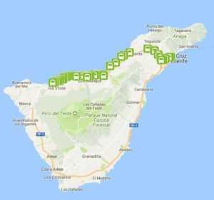 Маршрут следования на карте