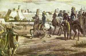 Завоевание Мексики и истребление ацтеков