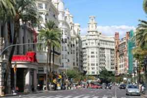 Улица в Валенсии