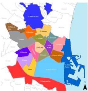Административные округа Валенсии