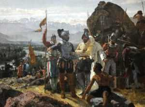 После завоевания в колониях началась жесточайшая эксплуатация местного населения
