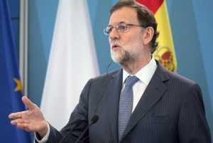 Премьер-министр Испании Рахой побывал в Каталонии