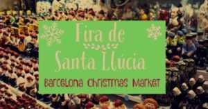 Ярмарка Santa Lucia в Барселоне
