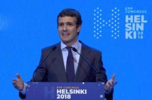 Глава El PP представил в Конгрессе инициативы по борьбе с сепаратизмом